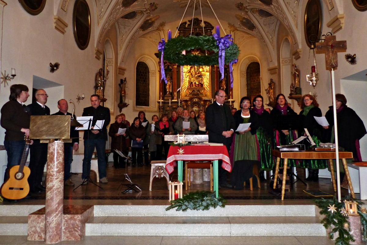 Adventsingen in Odelzhausen