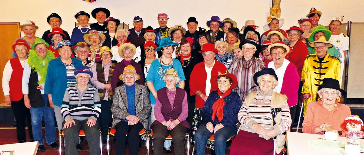 Seniorenclubfasching in Odelzhausen